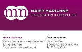 Friseur & Fußpflege Marianne Maier