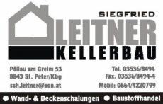 Kellerbau Leitner Siegfried
