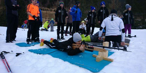 Biathlonschnuppertraining für die Junghaie