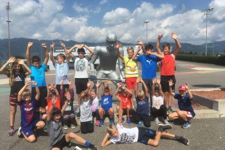 Kinder und Jugend Intensivwoche beim EVZ 2018