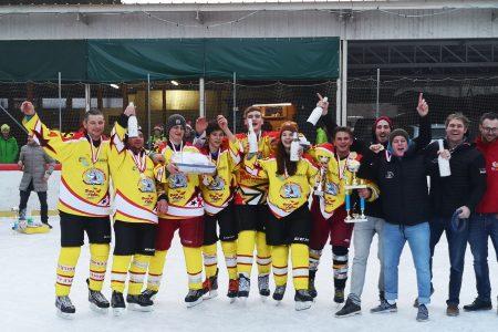 Sieg beim 5. Metnitzer Freiluft Eishockeyturnier
